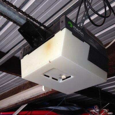 Universal Garage Door Opener >> Garage door part - Cases & Covers Merlin M230 Light Cover Latch