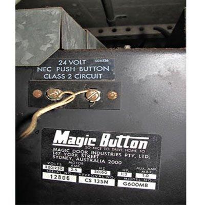 Garage Door Part Magic Button Magic Button