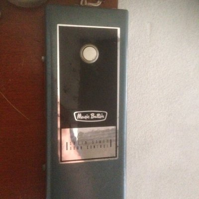 Garage Door Part Magic Button