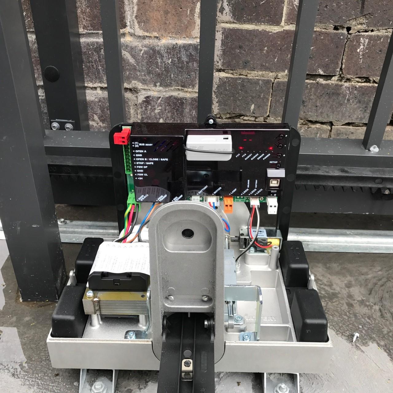 FAAC sliding gate opener
