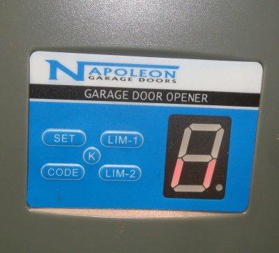 Garage Door Remote Napoleon Napoleon4b Napoleon