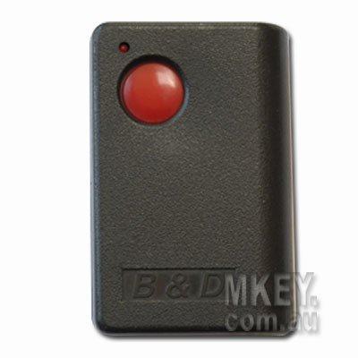 Garage Door Remote B Amp D Trg112 B Amp D B Amp D Red Button