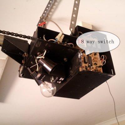 8-way switch on PC thumb