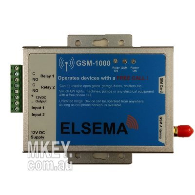 Elsema GSM-1000 : GSM receiver
