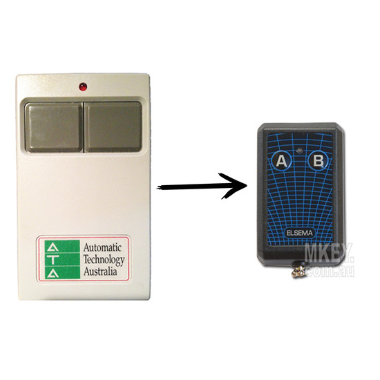 Garage Door Remote Ata Ata202 Ata Txa 2